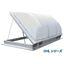 樹脂製排煙機能付き天井採光窓「ナックドーム:DHLシリーズ」 製品画像