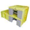 樹脂製作業台『イエローキューブ』 製品画像