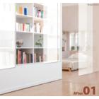 【ZIPrailScreen施工事例】ベッドルーム・シェルフ 製品画像