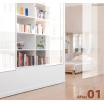 【ジップレールスクリーン施工事例】ベッドルーム・シェルフ 製品画像