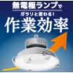 無電極ランプで作業効率アップ 製品画像