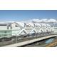 羽田空港第2ターミナル国際線拡張部屋根に採用の膜構造用フィルム 製品画像
