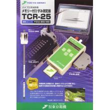 【デモ機貸出可能!】メモリー付ひずみ測定器『TCR-25』 製品画像