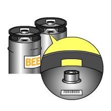 【用途例紹介】セララベルSL ビール樽 製品画像