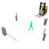 工場内の安全対策のご提案「カーゲートと人用ゲートによる人車分離」 製品画像