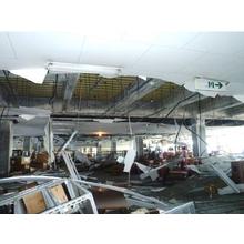 【地震対策】帯塗くん(天井落下防止)とBCP(事業継続)の関係 製品画像