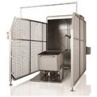 【超節水】自動洗浄『200Lミートワゴン洗浄装置』※国産制御盤 製品画像