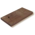 【木材通販】ウォールナット(節・白太あり)無垢板フリーカット 製品画像