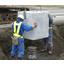 防雪柵 杭基礎用型枠『埋設型プレキャストコンクリート基礎枠』 製品画像