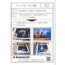 配管工事 「トップモール工法」非開削にて管路を埋設!施工事例 製品画像
