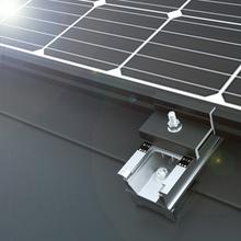 【太陽光架台】アルミ・シリーズ『D-FOURS 横葺・段葺AL』 製品画像