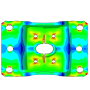 【CAEの受託解析・委託解析・請負】 金型の弾塑性解析 製品画像