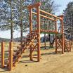 木製遊具 吊り橋 W-205 製品画像