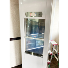 【小荷物専用昇降機 設置事例】中華料理店に設置/岡山県 製品画像
