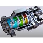 スクリュー式ドライ真空ポンプ 製品画像