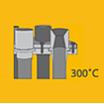 【焼結金属フィルター用途事例】高温ガス>300℃:ポリシリコーン 製品画像