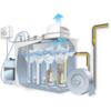 水中接触式集塵・脱臭機[デオブラスター] 製品画像