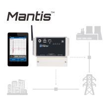 通電中のケーブルを全天候障害通知、高機能監視装置・Mantis 製品画像