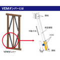制震ダンパー『3M 木造住宅用粘弾性ダンパー(VEMダンパー)』 製品画像