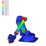 【CAEの受託解析・委託解析・請負】 樹脂外装品の応力解析 製品画像