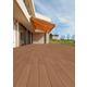 軽量の再生木デッキ『WOODSPECグレイスデッキ』 製品画像