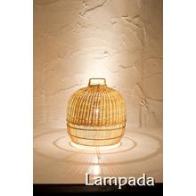 【インテリア照明】LED対応 ラタンランプ「COL169」 製品画像