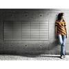 限りなく壁面と同化する、集合郵便受けポスタ・デ・ムーロ 製品画像