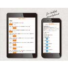 医療施設向けタブレット端末『Hos Pad 問診システム』 製品画像