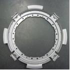 自動車クラッチ部品「一体型ガイドプレート」単発プレス・ガス軟窒化 製品画像