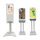 【手指消毒器仕様】LCDデジタルサイネージ・タッチモニター 製品画像