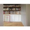 収納扉、室内小窓  隠して魅せて『木製パインキャビネットドア』 製品画像