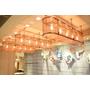 「メタルメッシュパネル」の装飾照明ライト施工事例 製品画像
