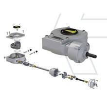鋳鉄製減速機『AB-PR(90度回転用減速機シリーズ)』 製品画像