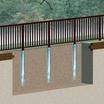 【フェンス・防護柵・看板の簡易基礎工法】「スリーブパイル」 製品画像