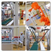【食品製造ラインの自動化に】ロボットを使った省人化技術 製品画像