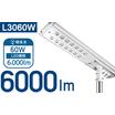 ソーラー式LED照明 太陽光街路灯 DESOL-L3060W 製品画像