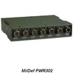 MilDef社 堅牢1U電源 PWR300シリーズ 製品画像