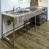 ステンレスフレームキッチン I型/W2400 製品画像