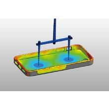 2色成形の流動解析技術 製品画像