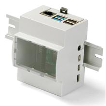Raspberry Pi 4B用 DINレールボックス 製品画像