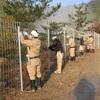施工実績『メガソーラー太陽光発電所外周フェンス』兵庫県2016年 製品画像