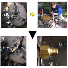 黄銅継手部品加工用工具のご提案 製品画像