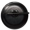 トラック用平面ミラー丸棒タイプ「FB-20K」丸型 黒 製品画像