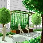 【施工事例集進呈中】グリーンを使った演出で快適空間を実現! 製品画像