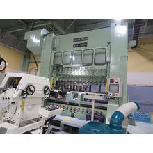 メタルスリーブの大量生産に最適     トランスファープレス導入 製品画像