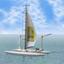 『無給電ヨット型ドローン』 製品画像