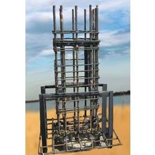 『PC工法 / 鉄筋組込柱脚架台』 ※設計から施工まで一貫対応 製品画像