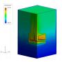 【CAEの受託解析・委託解析・請負】 産業機械の定常熱伝導解析 製品画像