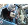 トラック用平面ミラー丸棒タイプ「FB-18C」角型 ステンレス 製品画像