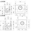 鉄筋コンクリート特殊L型(蓋掛け用)ます 製品画像